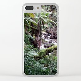 Tropical Forest 09 Clear iPhone Case