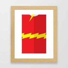 """Belts of Justice: Scientist Series """"The Speedster"""" Framed Art Print"""