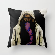 The Unfortunate Man Throw Pillow