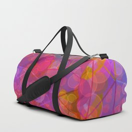 Colorful Untitled Abstract Duffle Bag