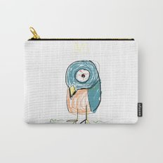 Stressed out Little King Bird  Carry-All Pouch