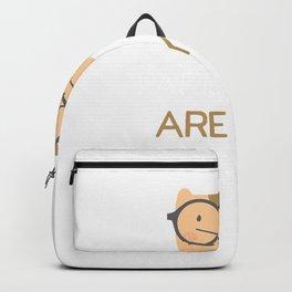Pardon me are you Aaron Purr Sir - Hamilton Cat T-Shirt Backpack