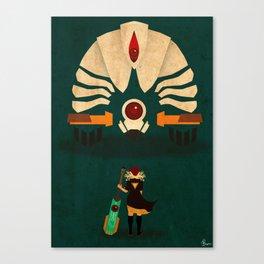 Red vs Jerk Canvas Print