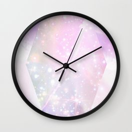 Star Prism Wall Clock