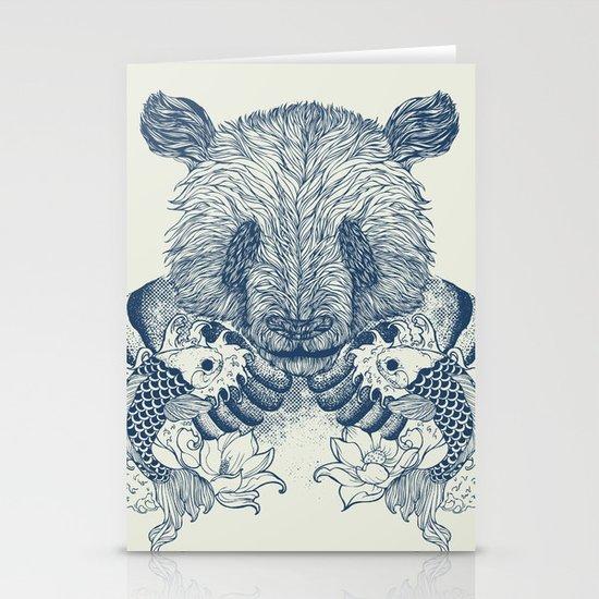 Panda Tattoo Stationery Cards