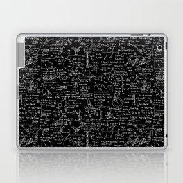 Physics Equations on Chalkboard Laptop & iPad Skin