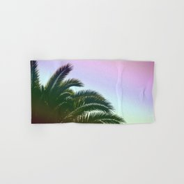 Palm Leaves  - Tropical Sky - Chilling Time Hand & Bath Towel