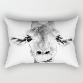 Hey Giraffe Rectangular Pillow