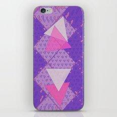 Triangular Love iPhone & iPod Skin