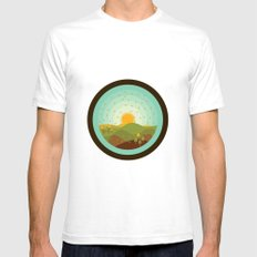 Autumnus Mens Fitted Tee SMALL White