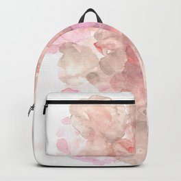 The Beginning of the Journey // Cloudy & Murky |Modern Watercolor Art | Abstract Watercolors Backpack