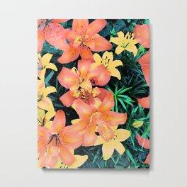 Floral Tropicalia Metal Print
