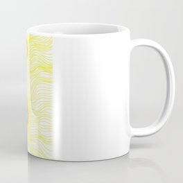 Black flower and colors Coffee Mug