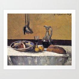 Camille Pissarro - Still Life - Digital Remastered Edition Art Print