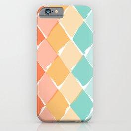 Vibrant summer pattern iPhone Case