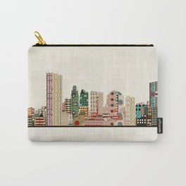 toledo city skyline Carry-All Pouch