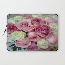 Gorgeous light pink and mauve wedding bouquet Laptop Sleeve