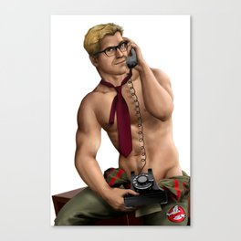 Kevin (Ghostbusters) Canvas Print
