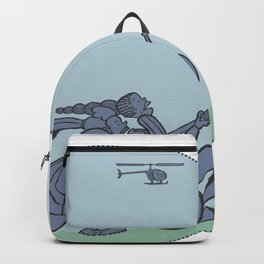 Use Your Skills - Blue Backpack