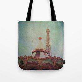 Bohemia of Paris Tote Bag