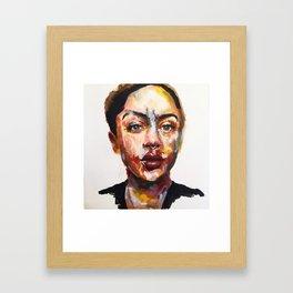 Print of Portrait in Acrylic Framed Art Print