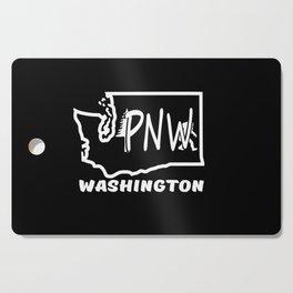 PNW WASHINGTON BIG FOOT Cutting Board