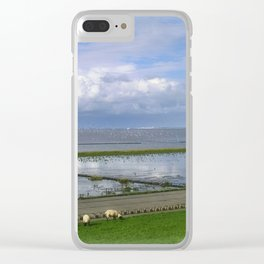 On the dike Clear iPhone Case