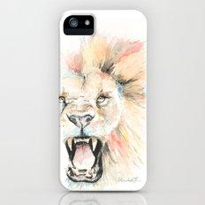 Savage Lion iPhone (5, 5s) Slim Case