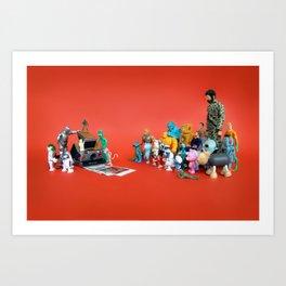 Toys on Roids Art Print