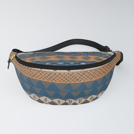 Hand Painted Ethnic Pattern Fanny Pack