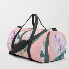 Peruvian Lily Duffle Bag