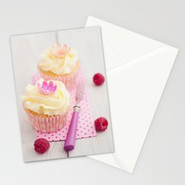Two cupcakes Stationery Cards