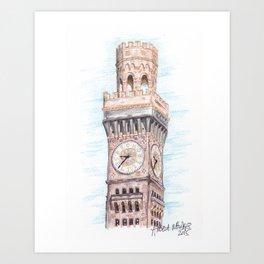 Bromo Seltzer Tower Art Print