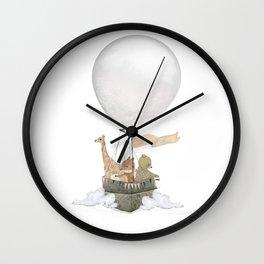 a little balloon adventure Wall Clock