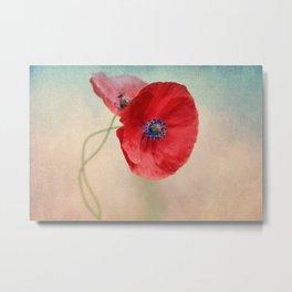 Poppies vintage(5) Metal Print