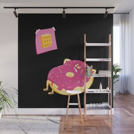DONUT GIVE UP Wall Mural