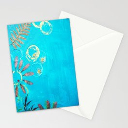Nature Blue Stationery Cards