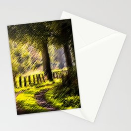 'Long Road Back Home' Landscape by Jeanpaul Ferro Stationery Cards