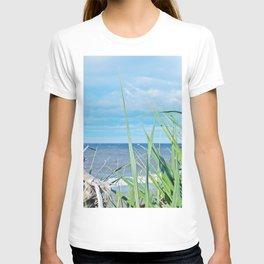 Through Grass and Driftwood T-shirt