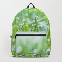 Fresh morning in nature Backpack