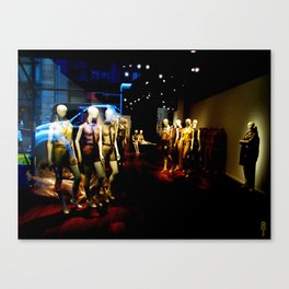 """Mannequin Meeting"" Canvas Print"