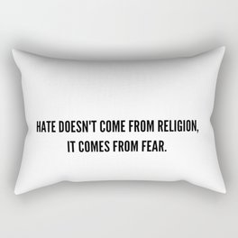 Hate-Sana Rectangular Pillow