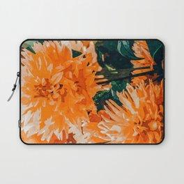 Coral Floral Laptop Sleeve