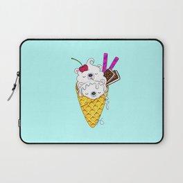 Polar Bear Ice Cream – Shh, they're sleeping Laptop Sleeve