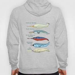 Less common subspecies of Narwhal Hoody