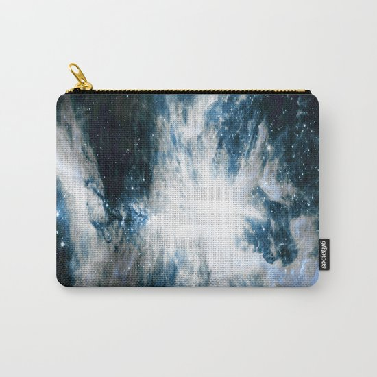 Orion Nebula Blue & Gray Carry-All Pouch