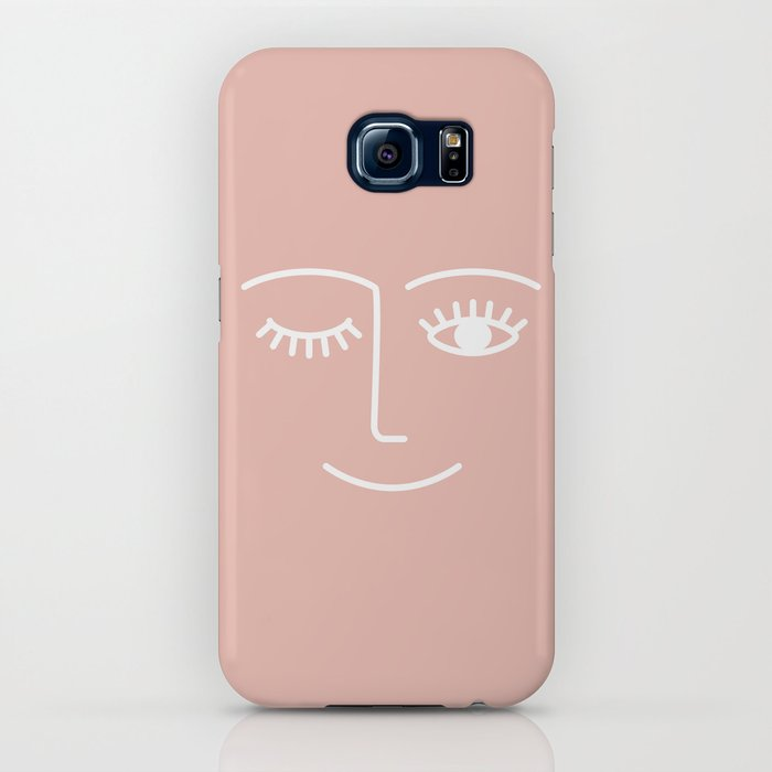 Wink / Pink iPhone Case