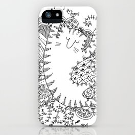 Kitty Dreams iPhone Case