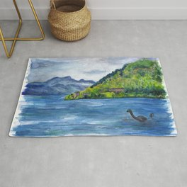 Loch Ness (with Nessie) Rug