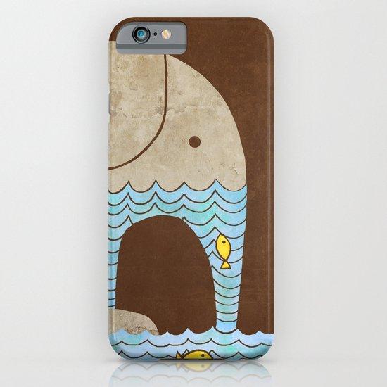 Thirsty Elephant - colour option iPhone & iPod Case